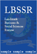Landmark Business and Social Sciences Review